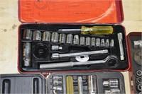 (4) Asst Socket Sets
