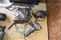 "1/2"" Drill, angle grinder, air hammer"