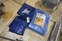 New Poly Tarps, Hydr Floor Jack, Fire