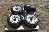 (4) Implement Tires & Rims