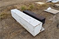 2 Tool boxes; Chev bumper pad