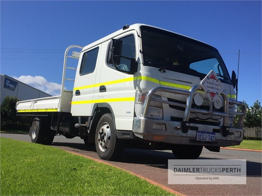 2012 Fuso Canter 918 Wide Daimler Trucks Perth - Trucks for Sale