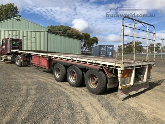 1989 Lusty Flat Top Trailer - Trailers for Sale