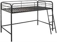 ZINUS TWIN LOFT METAL BED FRAME (NOT ASSEMBLED)