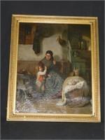 Estate Sale, Fine Paintings, Royal Doultons, Art Glass & Etc
