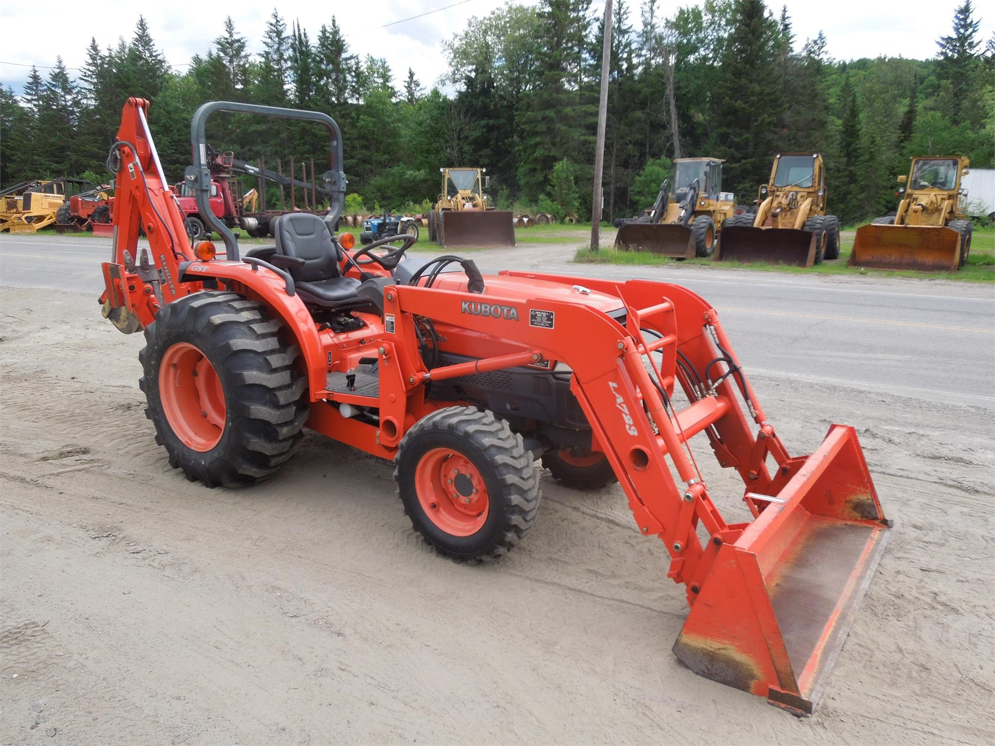 2005 KUBOTA L3830D For Sale in Colebrook, New Hampshire ...