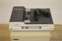 Epson Document Scanner and Sharp Printer Cabinet