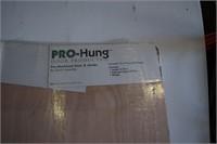 """ProHung Mahogany Door 32"""" X 80"""""""