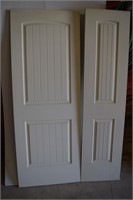 """(2)Santa Fe 2P Doors 30"""" X80"""" & 20"""" X80"""""""