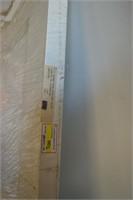 "15 Pane French Door 30"" X 80"" -gold  trim"