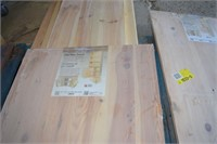 Grouping of Solid Pine Panels