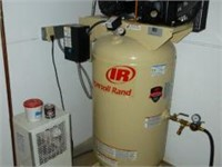 2007, INGERSOLL RAND MDL. 2340N5 AIR COMPRESSOR,W/ HANKISON MDL. HIT20 AIR DRYER