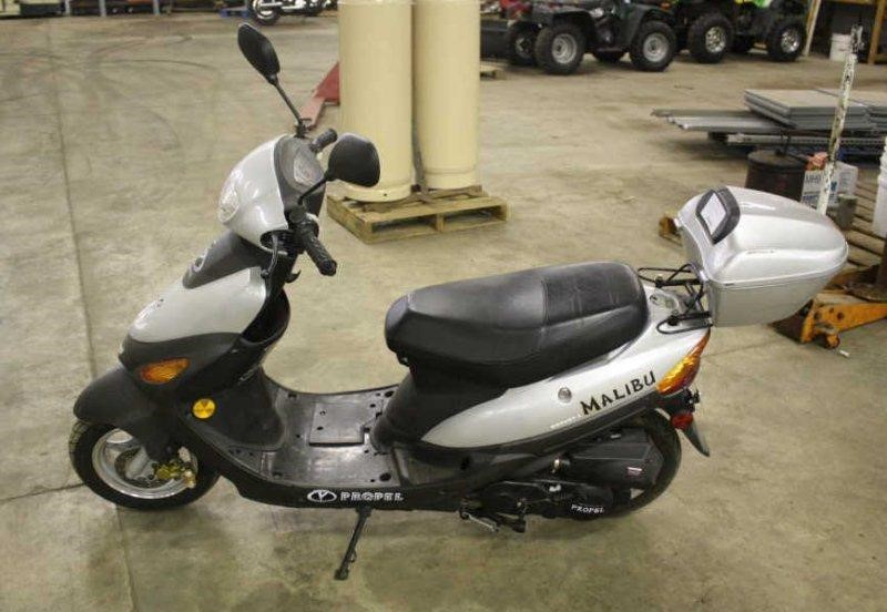 08 PROPEL MD50QT SCOOTER S/N #LYDTCBPC081100351 | Smith