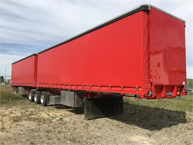 Trailers For Sale Calgary >> Curtain Side Roll Tarp Trailers For Sale In Calgary