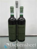 (2) 2009 Rossa Ca'del Merlo, 750ml bottles,