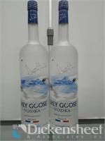 (2) Grey Goose 1.75ml Vodka,