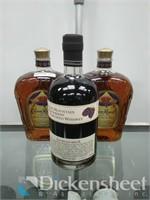 (2) Bottles of 750ml Crown Royal