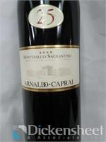 (2) Arnoldo Caprai Montefalco Sagrantino, 750ML,
