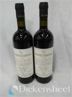 (2) 2014 Montevertine Toscana red wine, 750ML,