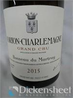 2015 Corton Charlemagne Grand Cru Bonneau du Martr