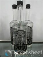 (3) Bottles of El Buho