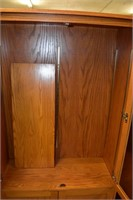 "Cabinet with Shelf 15""x38""x72"" Tall"