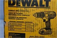 DeWalt Compact Drill/Driver Kit