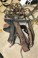 Tote of Assorted Horse Tack