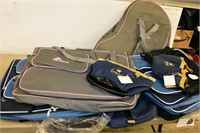 Group of Bags & Saddle Pads
