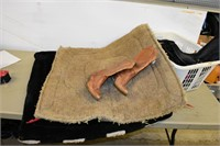 Group of Boots & Saddle Pads