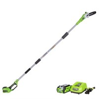 GREENWORKS CORDLESS POLES SAW