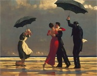 VETTRIANO THE SINGING BUTLER WALL ART 80X1.8X60CM