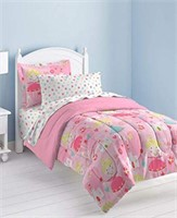 DREAM FACTORY COMPLETE BED SET TWIN