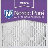 NORDIC PURE 6-PCS AIR FILTERS (15 X 20 X 1'')