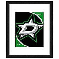 NHL DALLAS FRAMED PHOTO DISPLAY (22.5 X 26.5'')