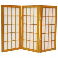"DESKTOP WINDOW PANEL 26.5"" SHOJI SCREEN"