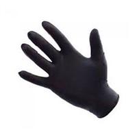 SAFE TOUCH BLACK NITRILE GLOVES 10 BOXES,