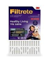 FILTRETE 16X25X5 PLEATED AC FURNACCE AIR FILTER