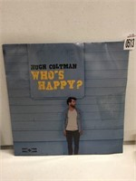 RECORD ALBUM HUGH COLTMAN - WHOS HAPPY?