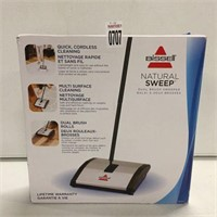 BISSELL NATURAL SWEEP DUAL BRUSH SWEEPER