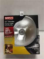 """BAYCO 10.5"""" BROODER CLAMP LIGHT"""