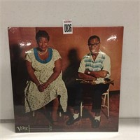 ELLA FITGERALD AND LOUIS ARMSTRONG RECORD ALBUM