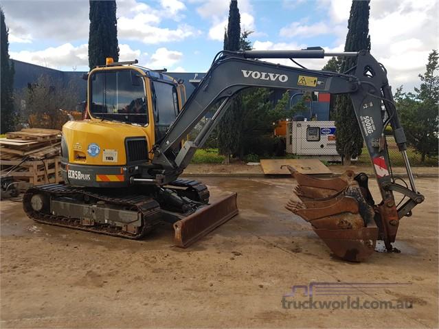 2012 Volvo ECR58 Excavators - Mini heavy machinery for sale