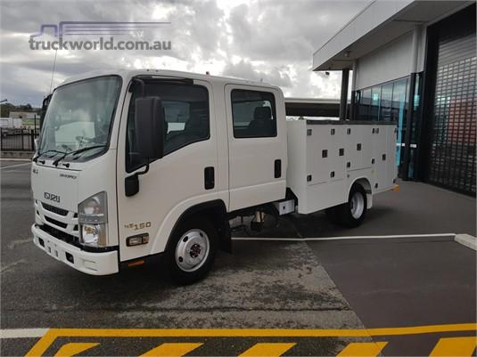 2017 Isuzu NLS 45 150 Crew ServicePack Trucks for Sale