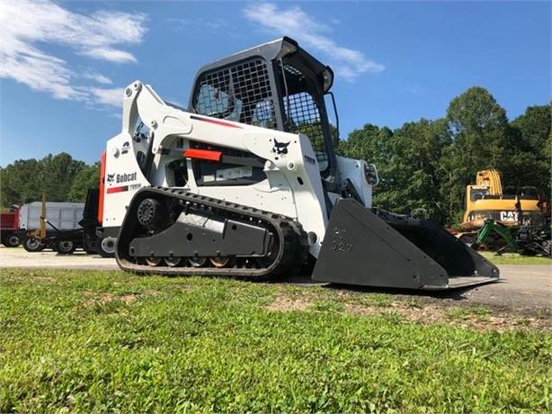 BOBCAT T590 Skid Steer Mulchers Logging Equipment For Sale