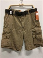 LEE MEN'S KHAKI SHORTS SIZE 38