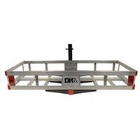 ALUMINUM HITCH-MOUNTED CARGO CARRIER