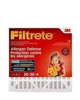 FILTRETE 20X20X4 AC FURNACE FILTER 2-PACK