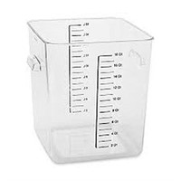 RUBBERMAID 18QT. SPACE SAVER CONTAINER