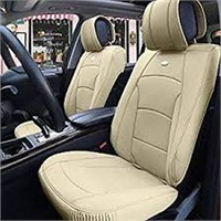 LEATHER CAR SEAT COVER (SEAT AND HEAD COVER ONLY)